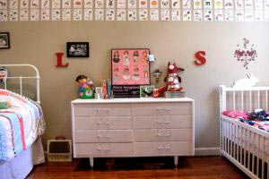 Tips para decorar cuartos infantiles compartidos
