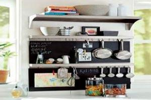 Redecorar la cocina por poco dinero - Como organizar una cocina pequena ...