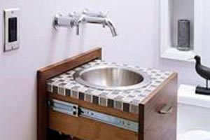 C mo decorar un cuarto de ba o con estilo r stico - Como decorar un bano rustico ...
