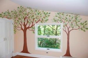 cmo hacer un mural para un dormitorio infantil