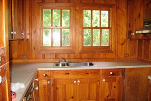 mueble de cocina de madera