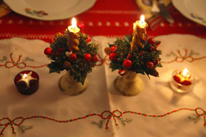 Decoraci n navide a el interior del hogar for Decoracion del hogar navidena