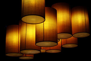 C mo decorar la pantalla de una l mpara for Decorar pantalla de lampara