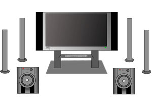 Cómo montar un home theater